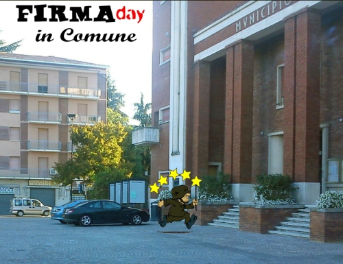 FirmaDay in Comune