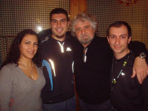 Grillo Tsunami tour 2013