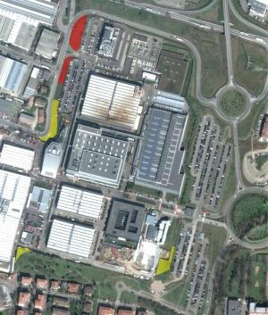 Mappa permute perimetro Ferrari