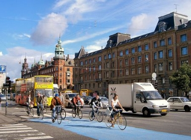 Copenhagen_Cyclists_Take_Over_Norrbrogade