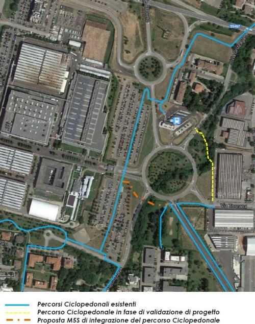 Proposta M5S per criticità di via Grizzaga
