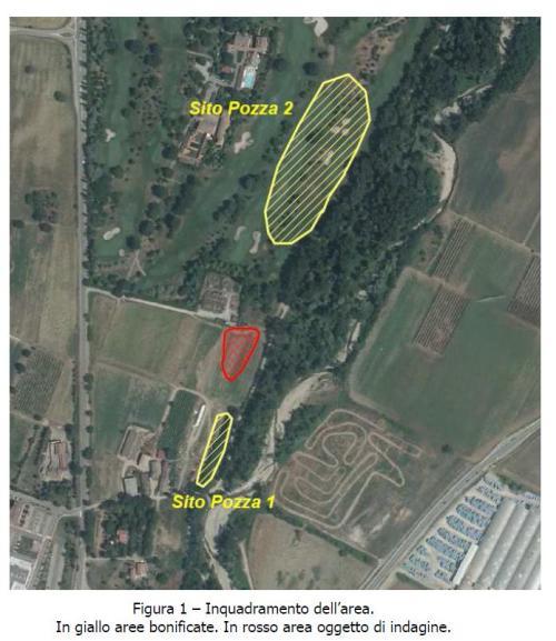Area oggetto di indagine